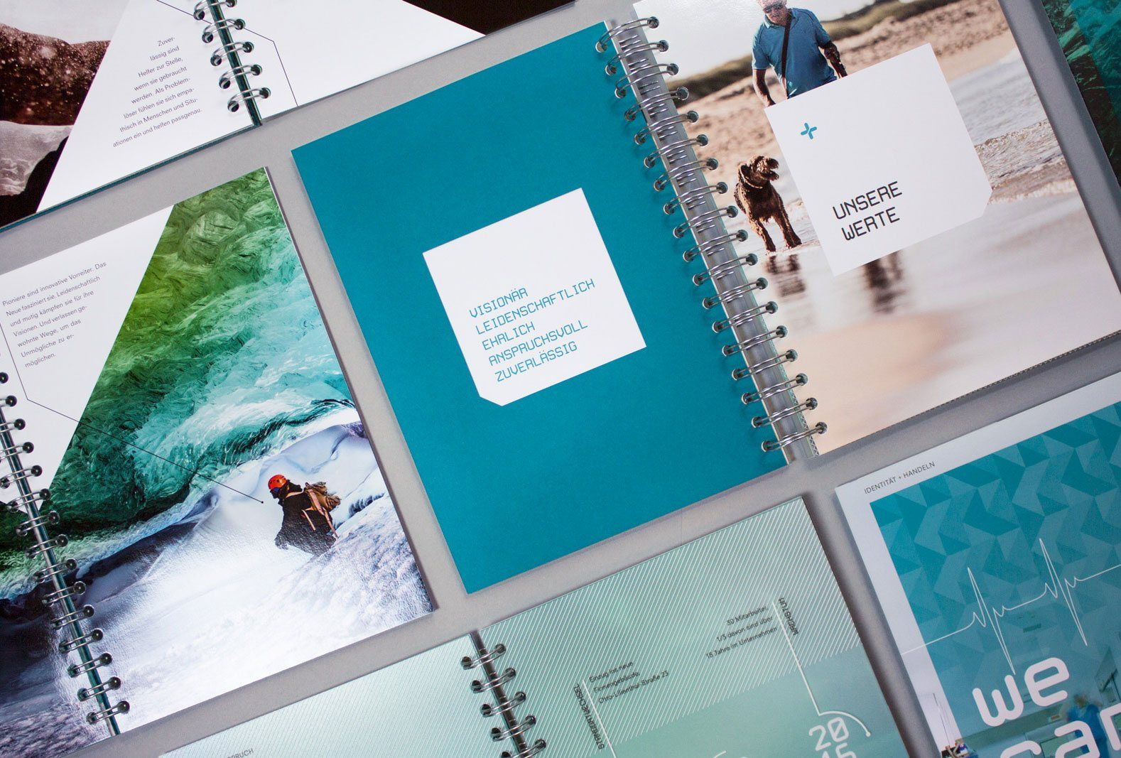 KLAGES & Partner - Brandbook Übersicht